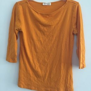 Zara Shirt Orange L